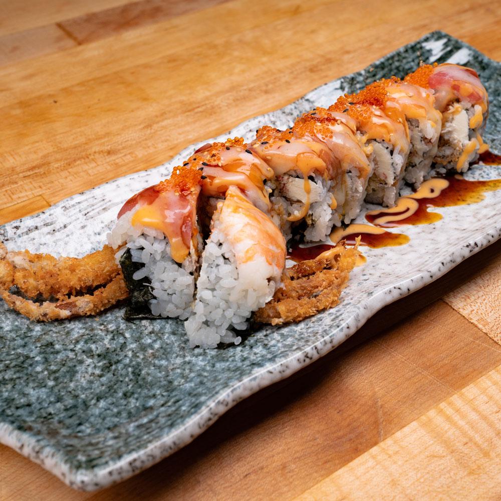 Misaka Sushi Ramen Godzilla Roll
