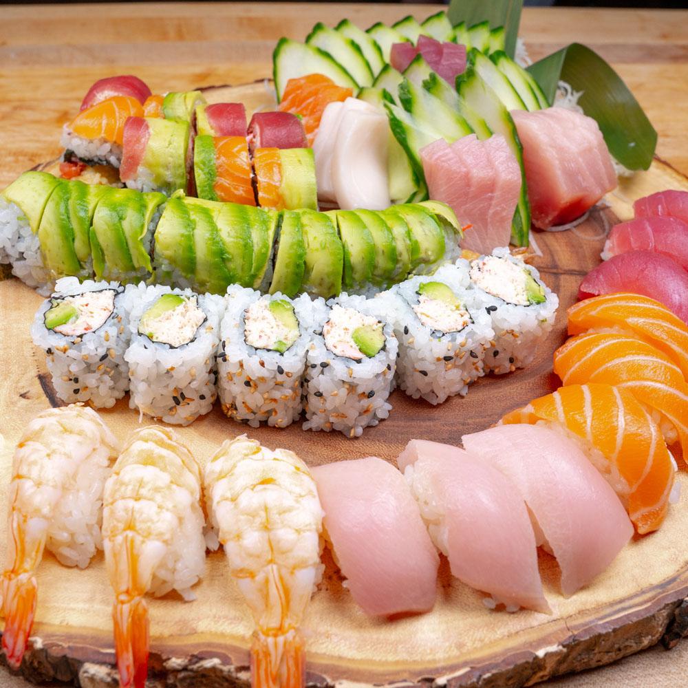 Misaka Sushi Ramen Golden Tray